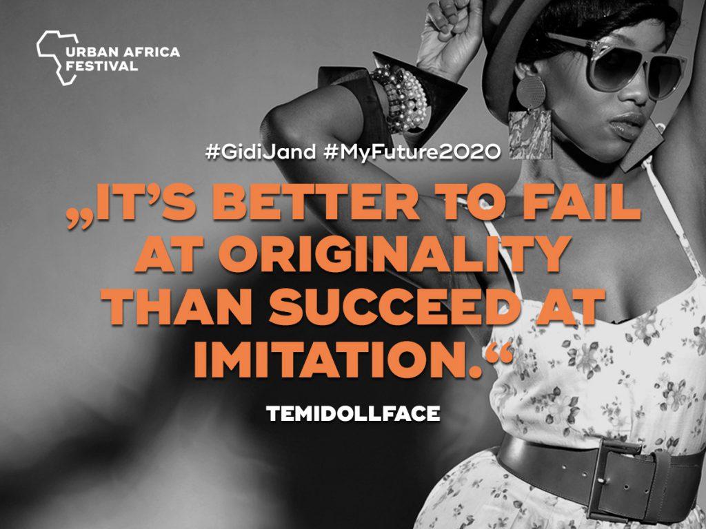 temi dollface Urban Africa Festival