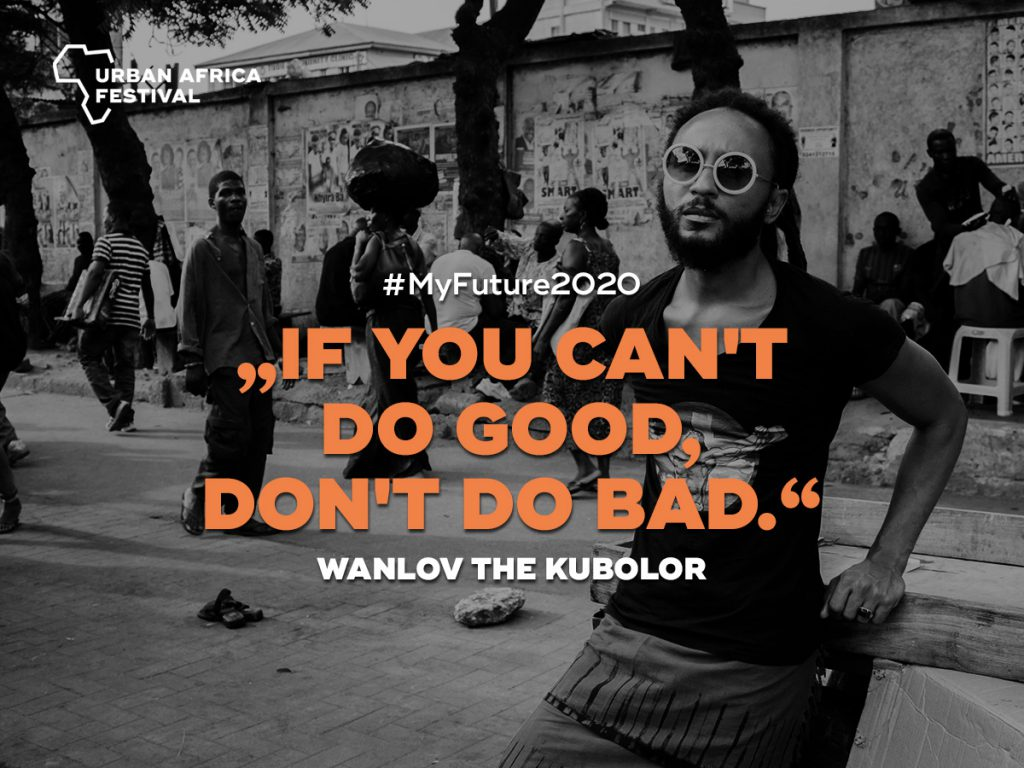 wanlov the kubolor Urban Africa Festival